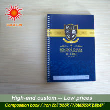 cheap school notebook spiral notebook shanghai factory